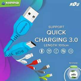 Hippo kabel rou best fast charger 3.0