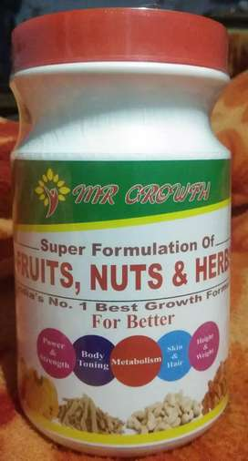 mr. growth (fruits, nuts and herbs)