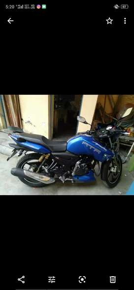 Tvs apache 180 with insurance and new condition. I m the first owner