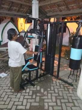 Home gym 3 sisi samsak free ongkir dan rakit