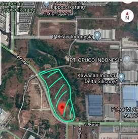 Tanah Industri Delta Silicon 2 Cikarang Pusat 6,19 Hektar
