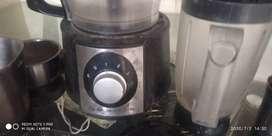 Balaj platina food processor with three jar n vegetables  many jar