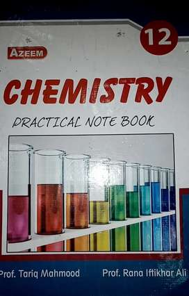 Chemistry practical notebook 12