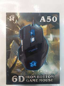 6d Iron Bottom Gaming Mouse A50, A50 Gaming Mouse