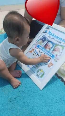 Biodata bayi (pre order)