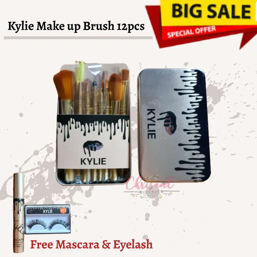 Sale Kyli Set Brush 12pcs free mascara dan eyelash makeup brush 0