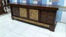 Bufet meja tv furniture jati