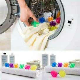 Bola mesin cuci laundry