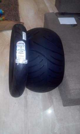 Fat tyre for custom bike with alloy