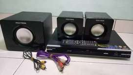 DVD POLYTRON HOME THEATER