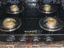 Gas stove Faber 4 burner