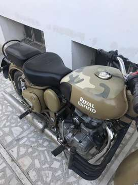 In excellent condition enfield 500