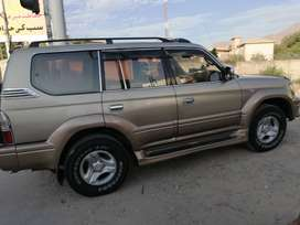 Prado TZ, 5 door, full neat and clean, just buy and use. Port imported