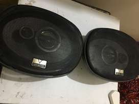 Kenwood amplifier supported Speakers pair