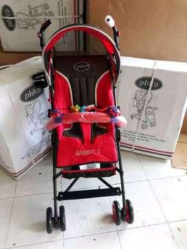 Bisa bayar di tempat , stroller Pliko 100 % baru & gratis ongkir
