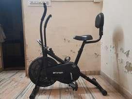 Cardio exercise manual bike