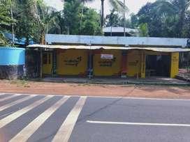 Shops for rental basis at ayirakuzhy  between kadakkal and chithara