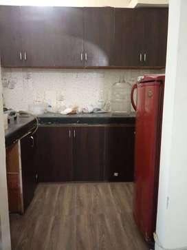 1 bhk semi furnished flat