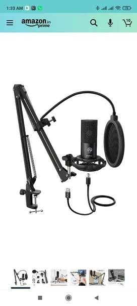 Fifine T669 Condenser USB Microphone Kit