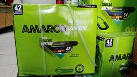 Amaron Battery Tall Tubular 150 ah with 42* months warranty with bill.