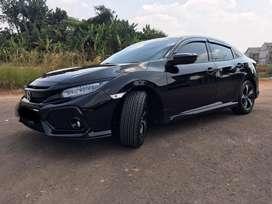 Honda Civic turbo HB 1.5 2017 AT crystal black pearl