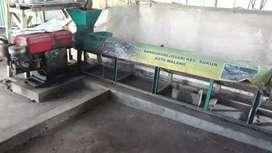 mesin sentris pengering plastik cacahan