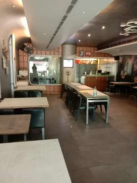Fully furnished working restaurant in posh area of Jalandhar on rent