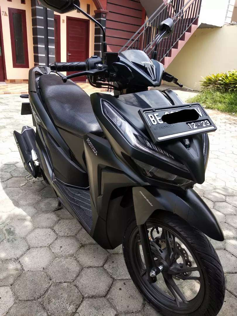 Vario 150 cbs iss,  th 2018 plat BE , pajak on km 4000 an 0
