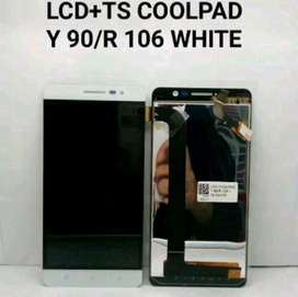 Lcd Touchscreen Coolpad Y 90/R 106 White