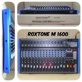 Mixer Audio 16ch / 16Channel ROXTONE M 1600 M1600 USB Equalizer Efek