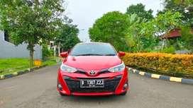 New Yaris G CVT 2019 Soul Red km 13 rb SEMPURNA SPT BARU pjk pjg nego