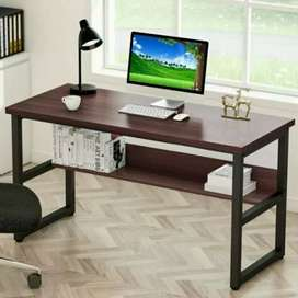 Study desk tables and for loptop wd shelves