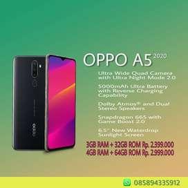Dijual Oppo A5 2020 Chas/Kredit