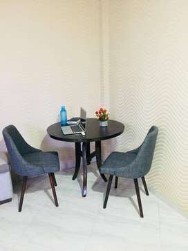 Two Seater Round Dining Table