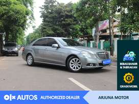 [OLX Autos] Mercedes Benz E-200 2010 2.0 A/T Bensin #Arjuna Motor