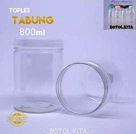 TOPLES TABUNG 800ml/Toples plastik