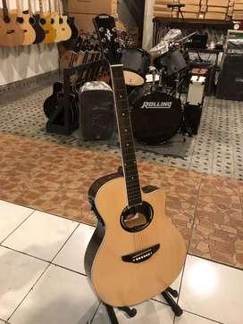 Gitar akustik eklektrik tamaha Apx custom