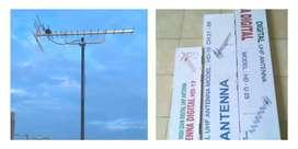 Jual paket pasang baru antena tv analog digital Bekasi Barat