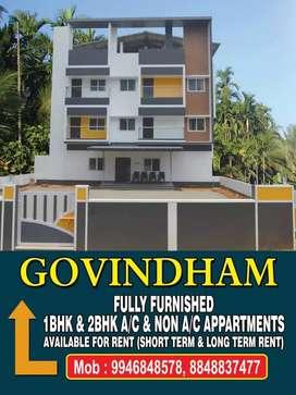 1BHK apartment available for rent near Sreedhareeyam, koothattukulam.