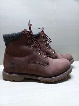 Boots Timberland original Dark brown nubuck