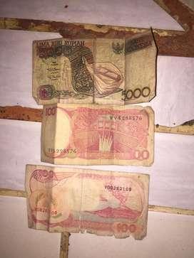 Uang kertas lama