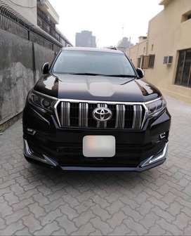 Prado lahore rent a car dha