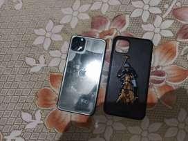 I phone 11 pro max 64 GB India set warranty till 22 October 21