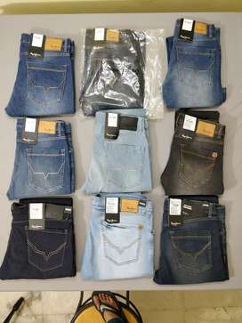 Original Branded Pepe Jeans Mens Denims Wholesale With Brand Bill