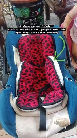 Dijual carseat baby newborn