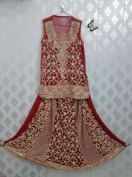 Bridal Dress Lehnga (بارات)