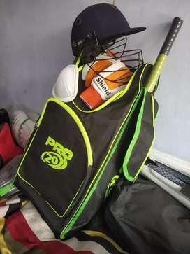 Cricket Kit full with kit bag