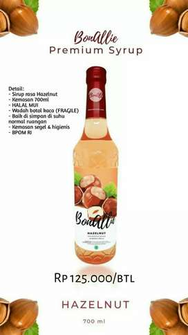 Sirup Bonallie Hazelnut