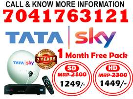 Just Now!! Tata Sky New Dish Tv tatasky Only rs.999 Buy Now!!