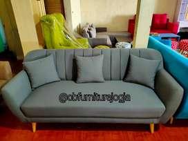 Sofa 3seater ready, Bonus Stool